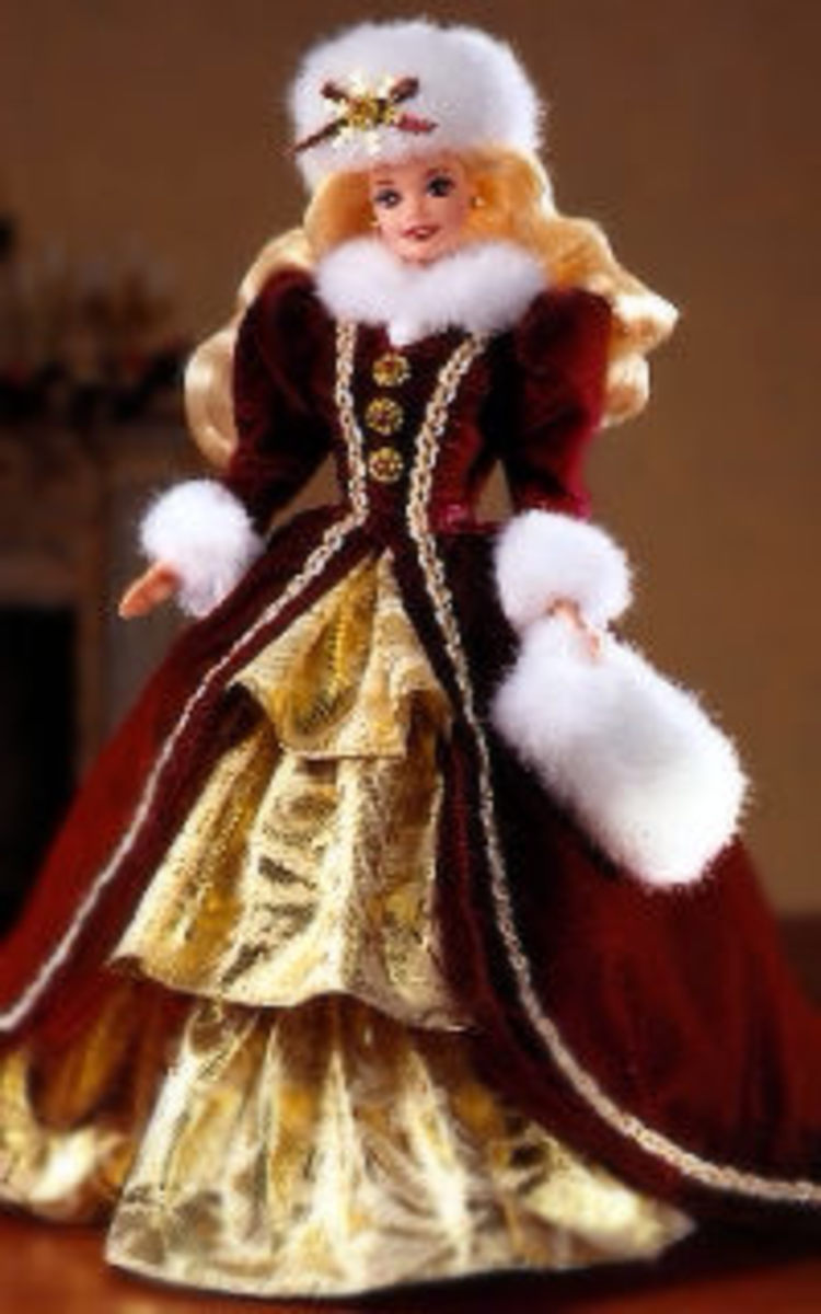1996 Happy Holiday Barbie