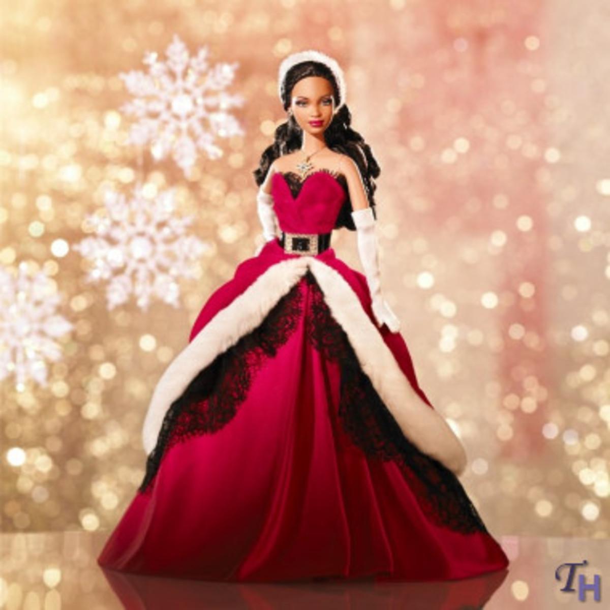 2007 Happy Holidays Barbie