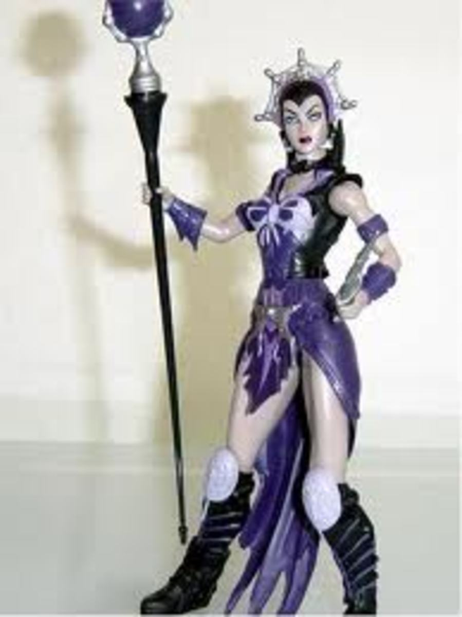 Evil-Lyn of Masters of the Universe