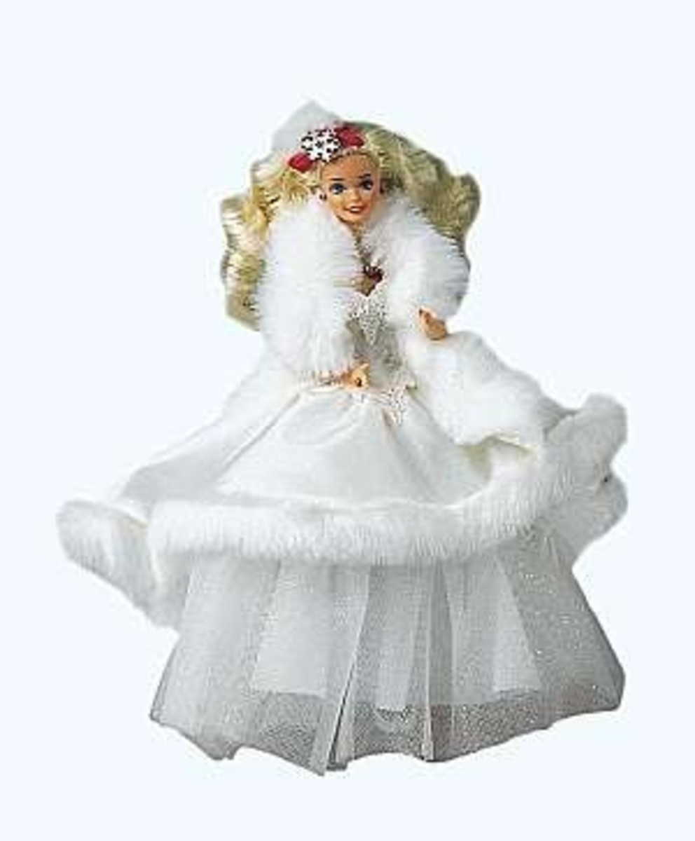 1989 Happy Holiday Barbie