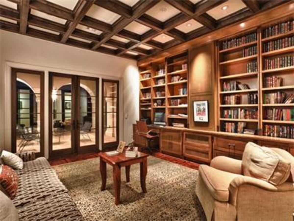 Home Remodeling Improvement Ideas With Wood Ceiling Beams