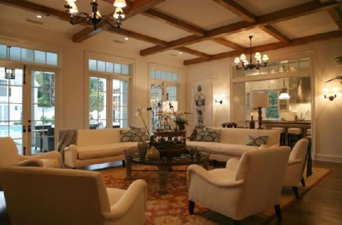Wood Ceiling Design Ideas - Wood Beams