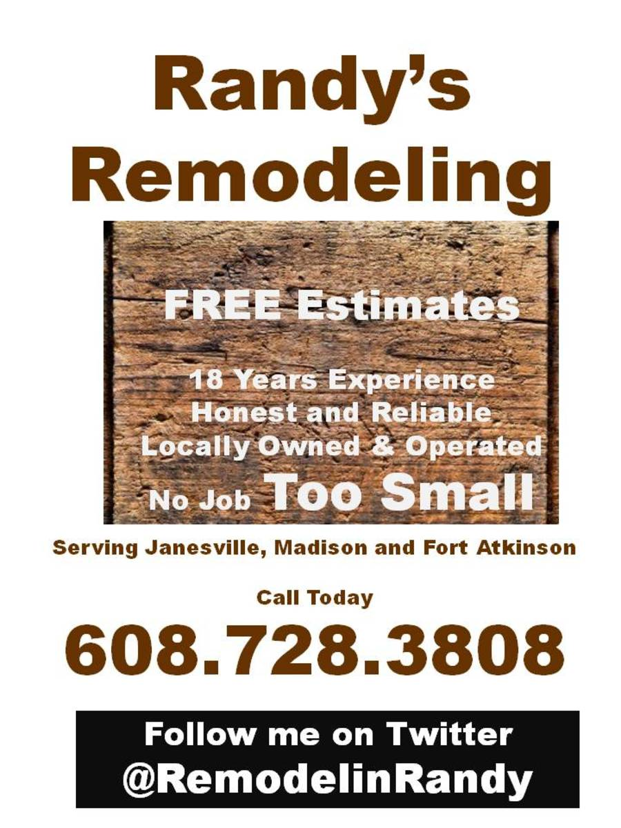 Home Remodeling Help Advertisement - Janesville, Fort Atkinson, Madison, Wisconsin