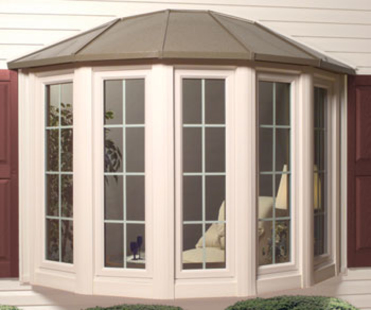 Bay or Bowed Window with Mullions in Casement Sashes polaristechnologies.com