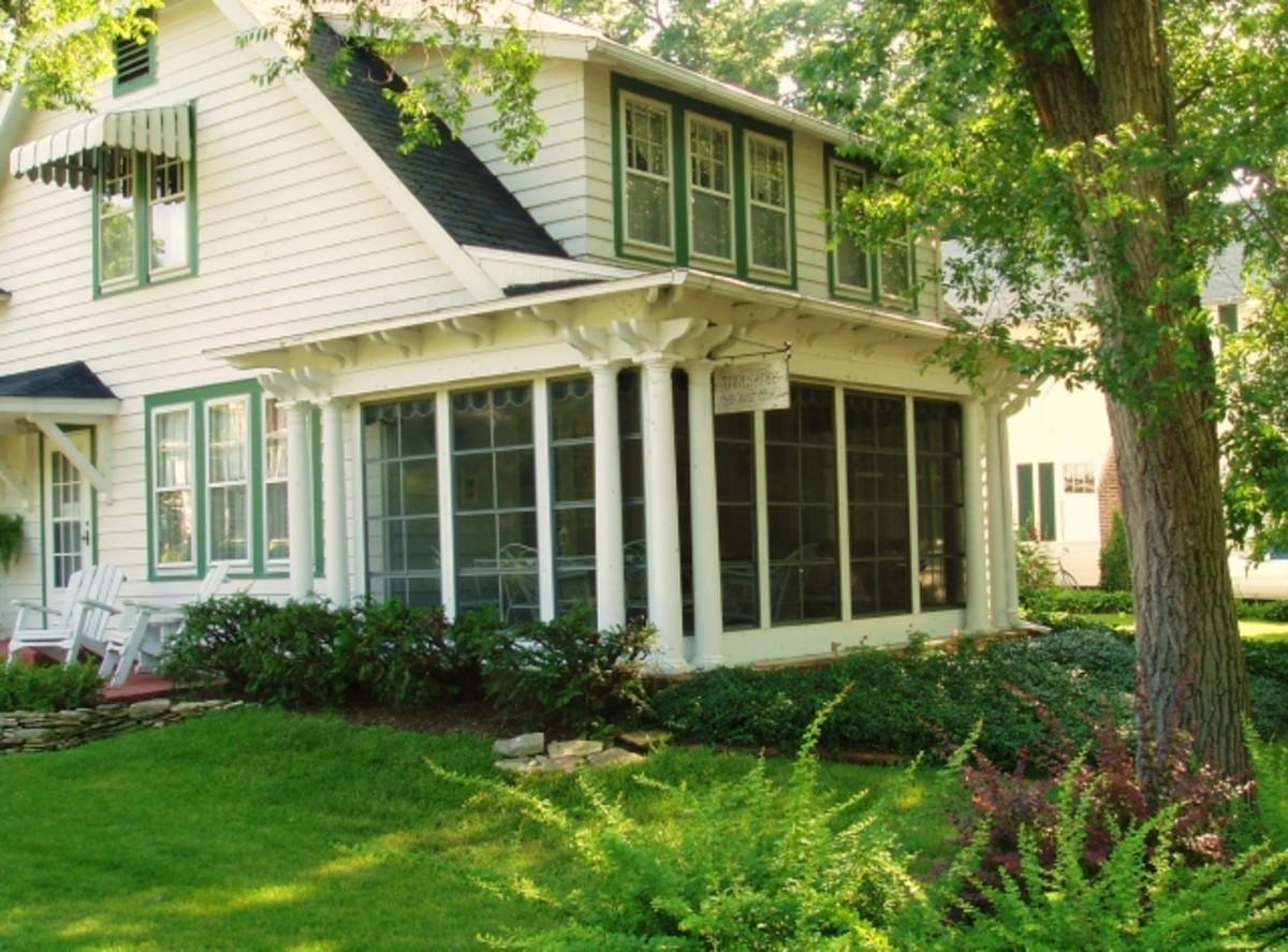mullions on three season porch