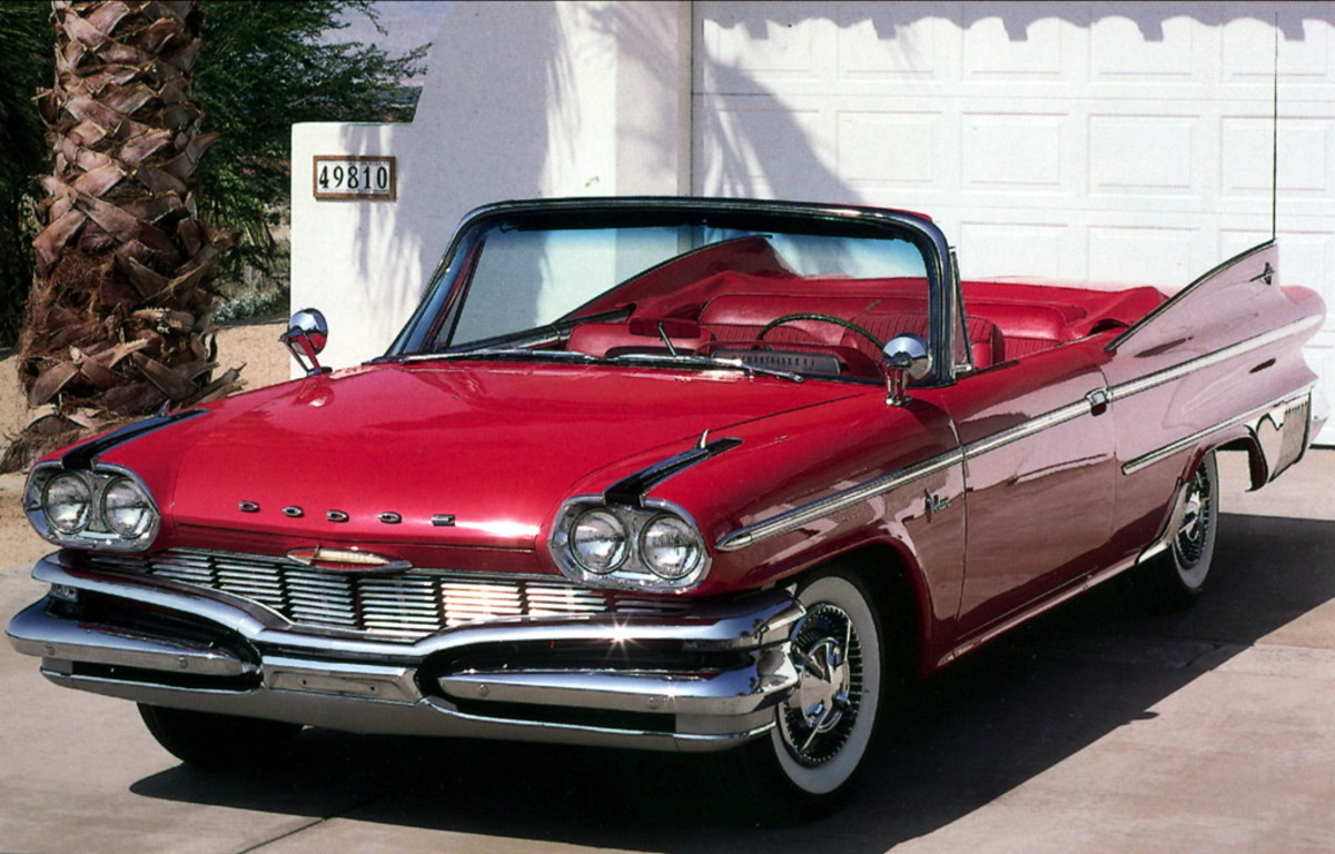 '60 Dodge Polara Convertible