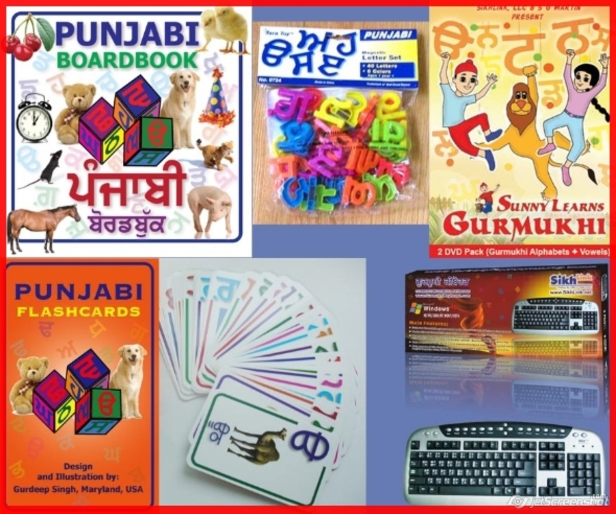 punjabi for kids, keyboard, flashcards, learn, panjabi, squidoo