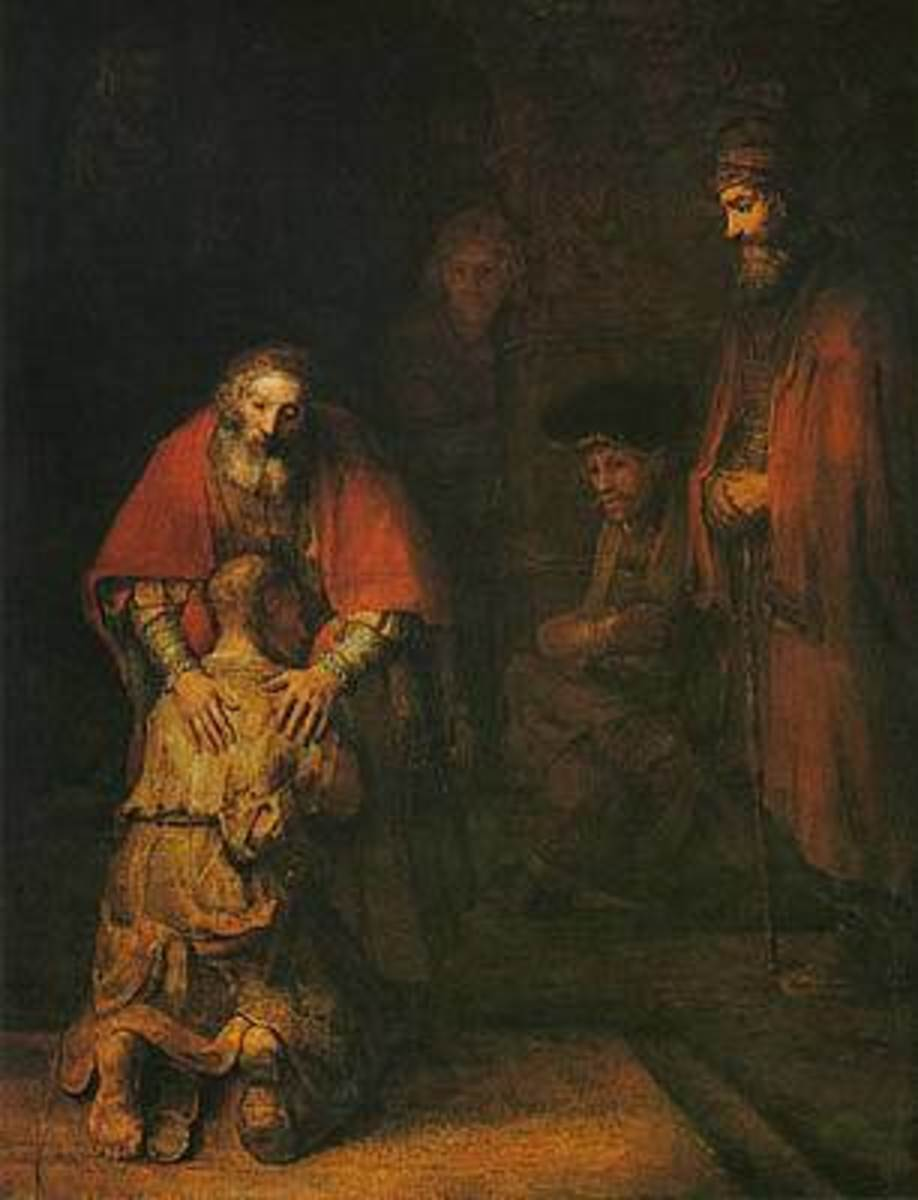 The Prodigal Son     (Rembrandt)