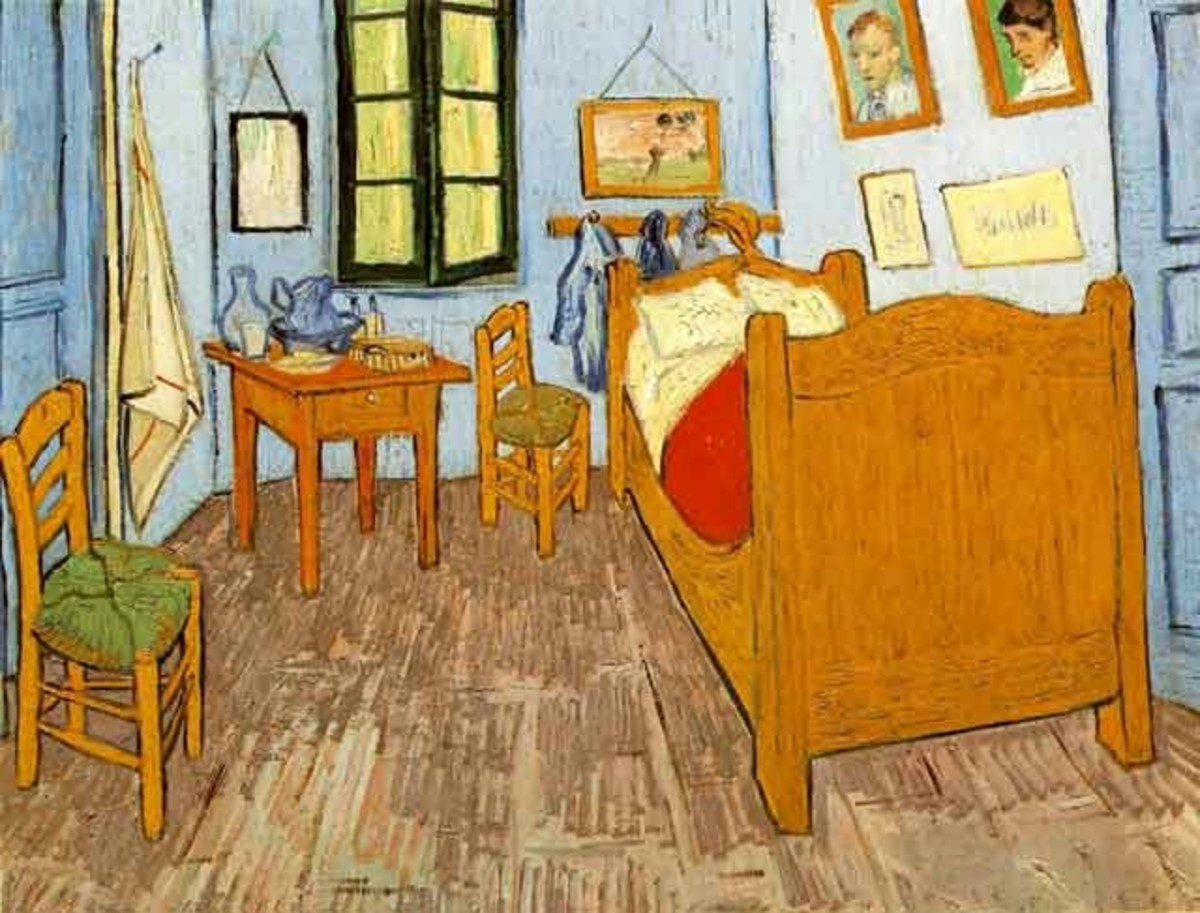 Bedroom      (Vincent Van Gogh)