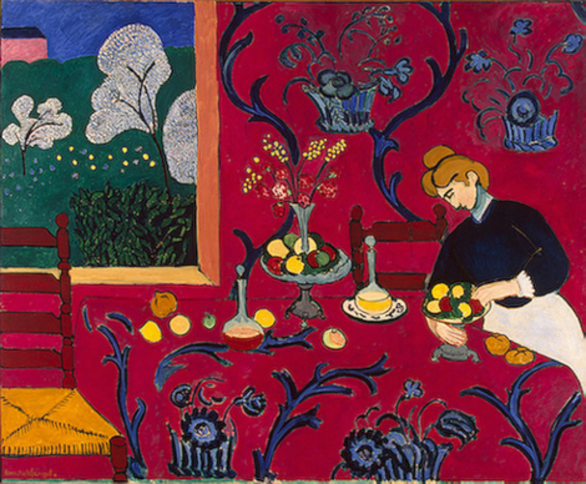 The Red Room    (Matisse)