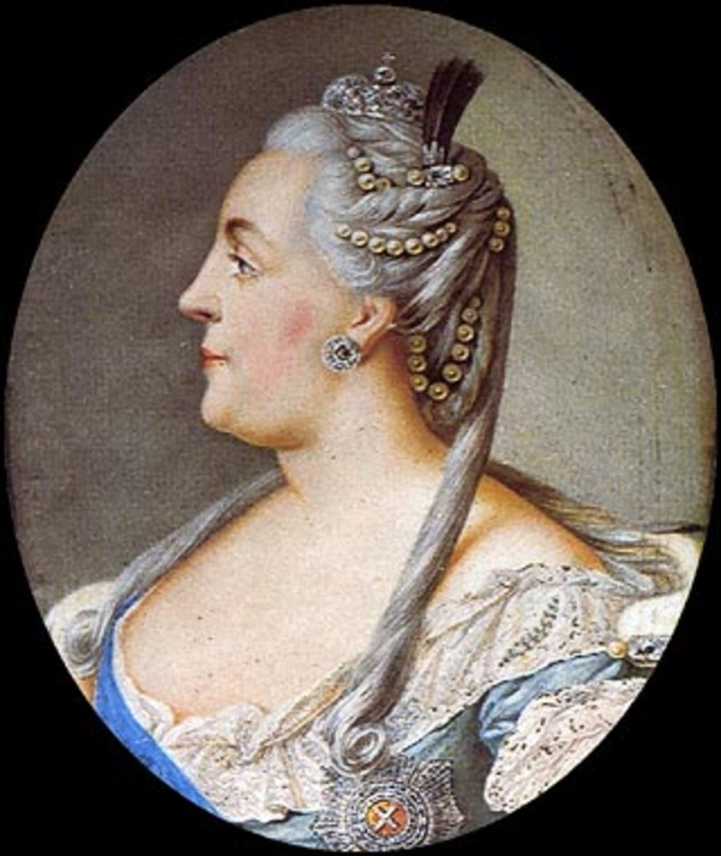 Catherine The Great   1729-1796