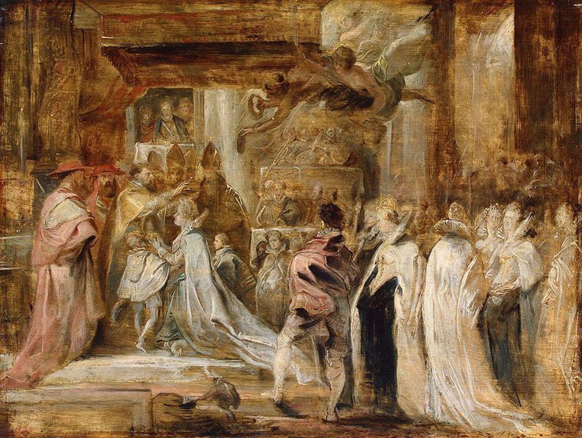 Coronation of Marie De Medicis  (Ruebens)