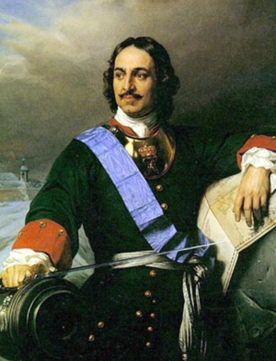 Peter the Great  1672-1725