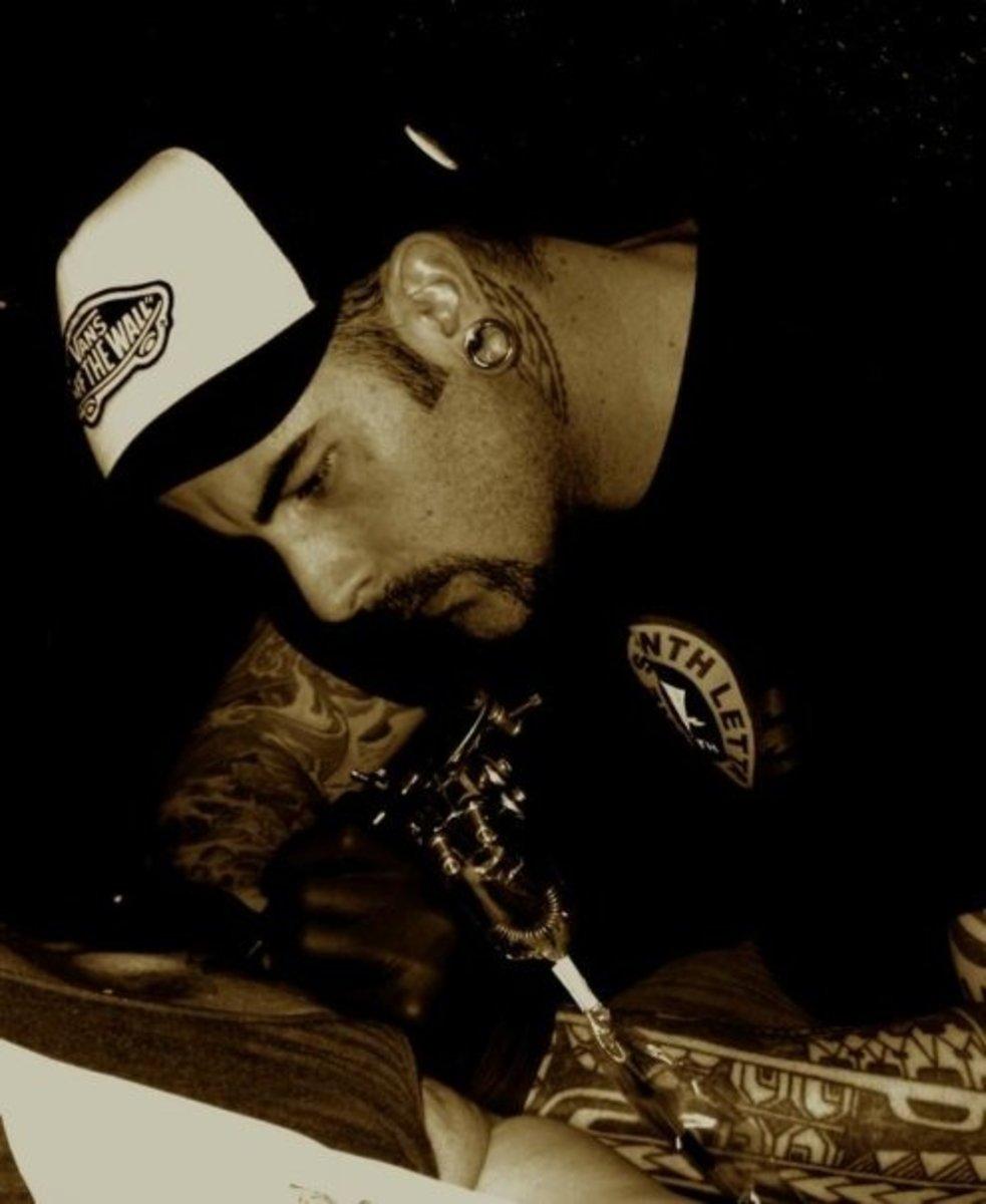Michael Cuervo Tattoo Artist- Soul Expressions