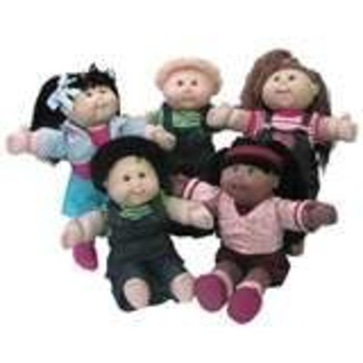 Xavier Roberts Little People dolls