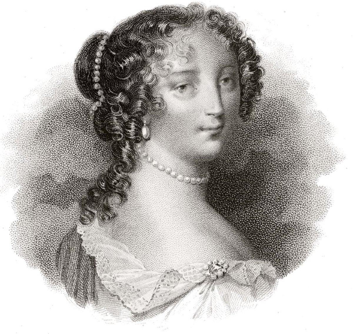 MADAME DE MAINTENON (FRANCOISE D'AUBIGNE)