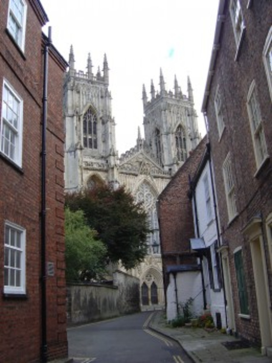 Secret view of York Minster