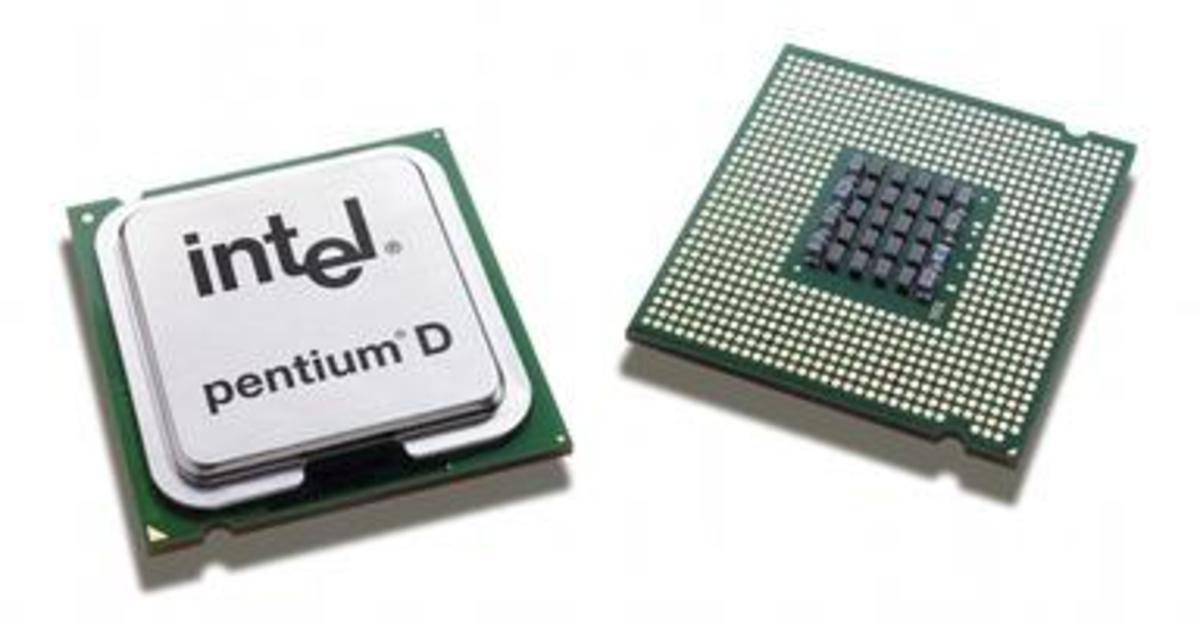 Modern Intel Microprocessor.