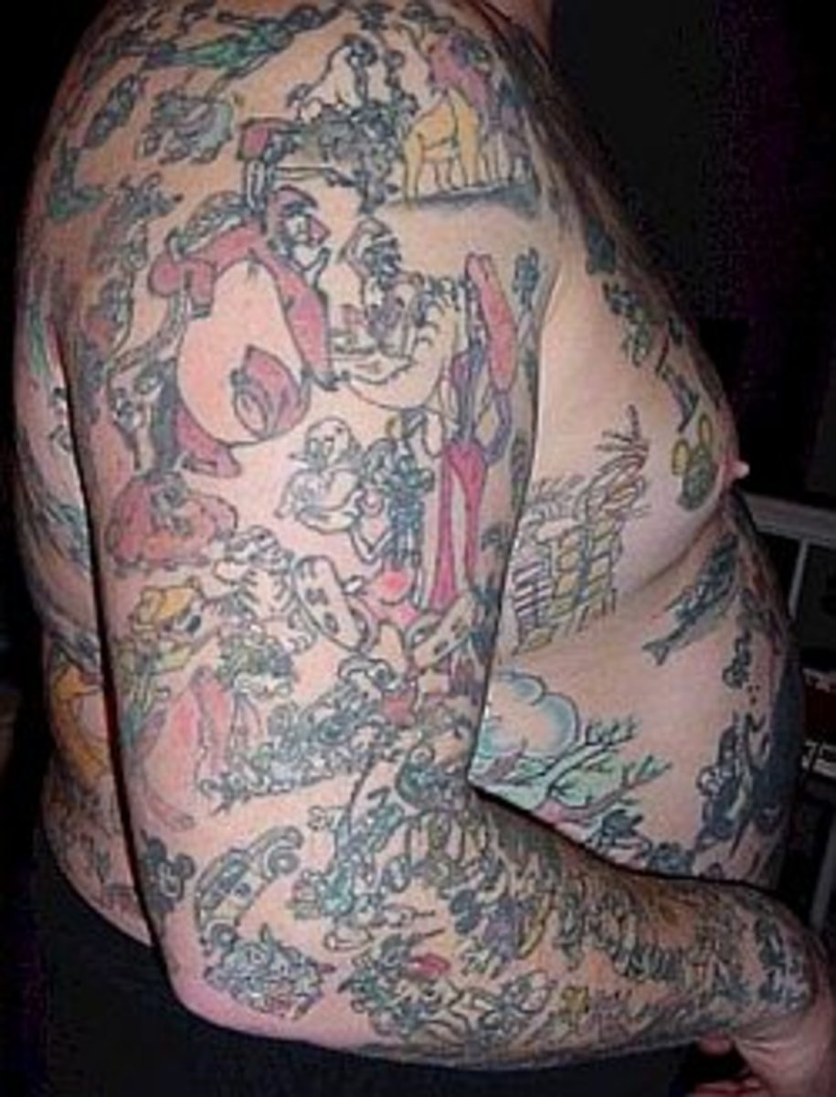 George Reiger is the #1 devoted Disney fan of all time according to the worldwide news media. And who could possibly deny it with over 1,900 Disney tattoos adorning his body. And it doesn't stop there, his house is home to over 26,000 Disney items. N