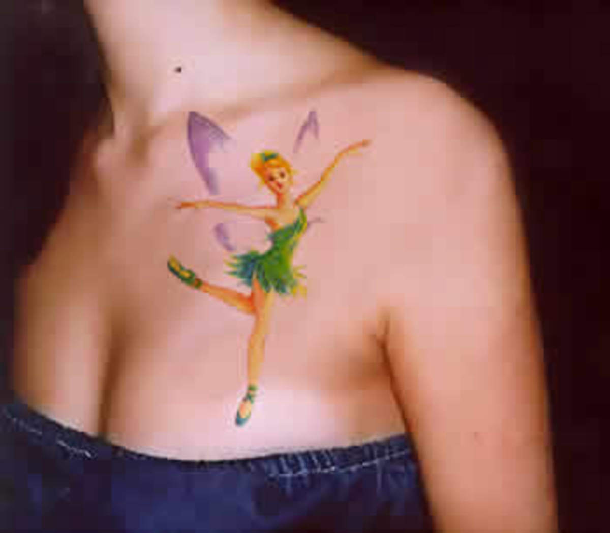 Peter Pan's little fairy, Tinkerbell.