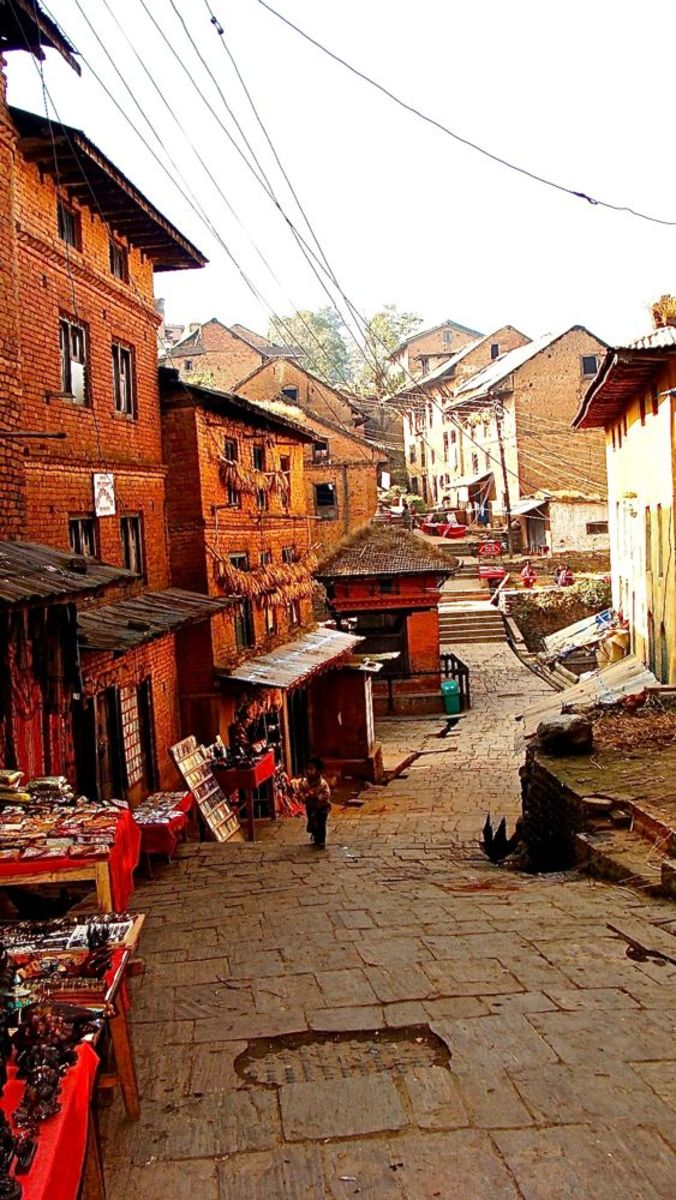 The Changu Narayan Village Path