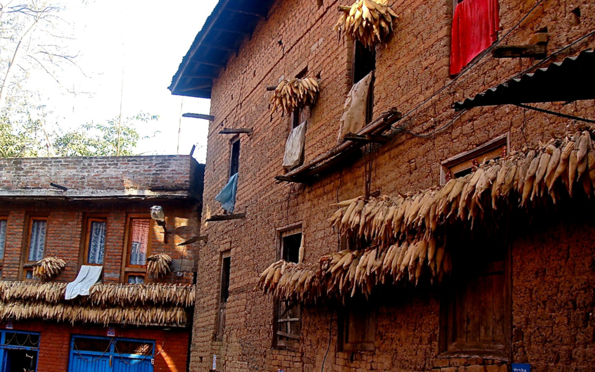 The Old Houses in Changu