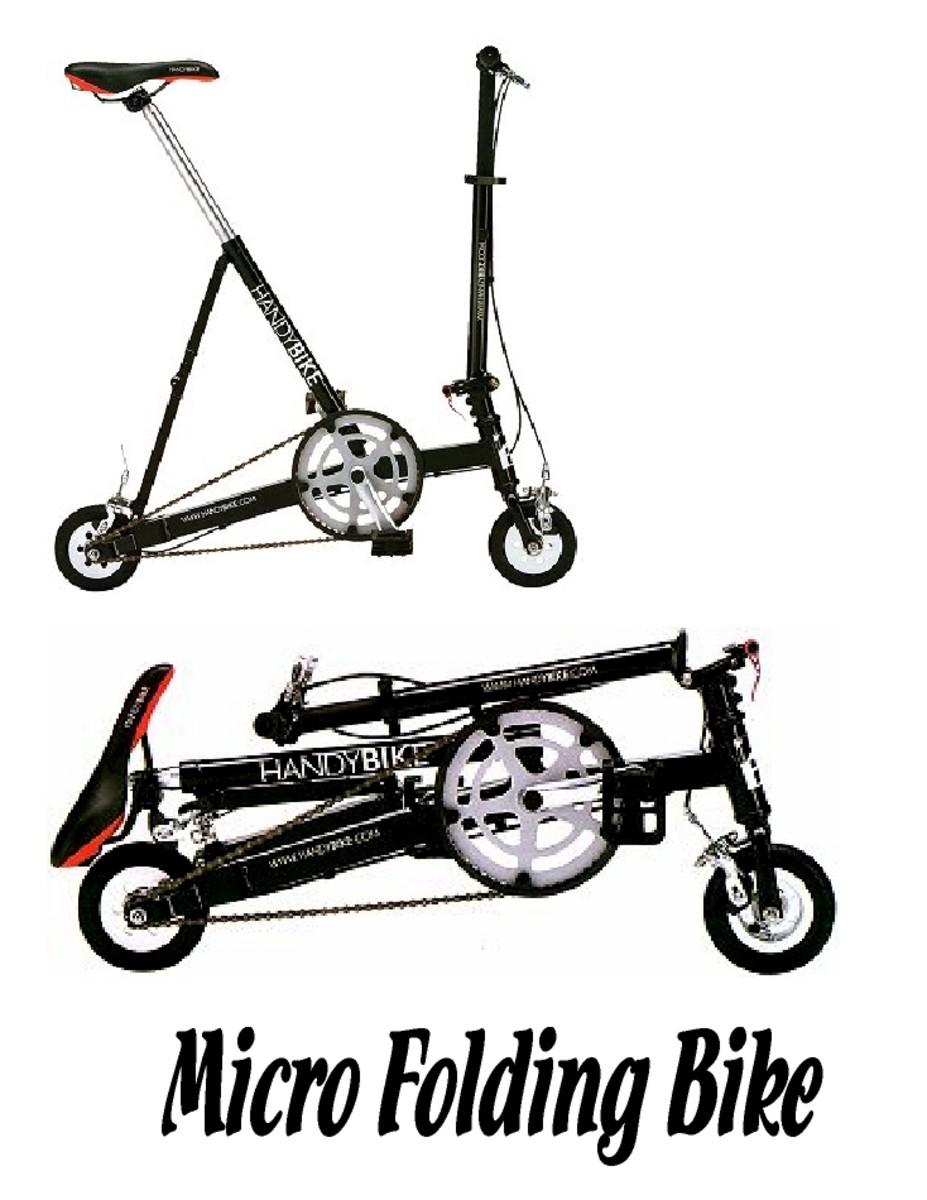 Micro folding bikes