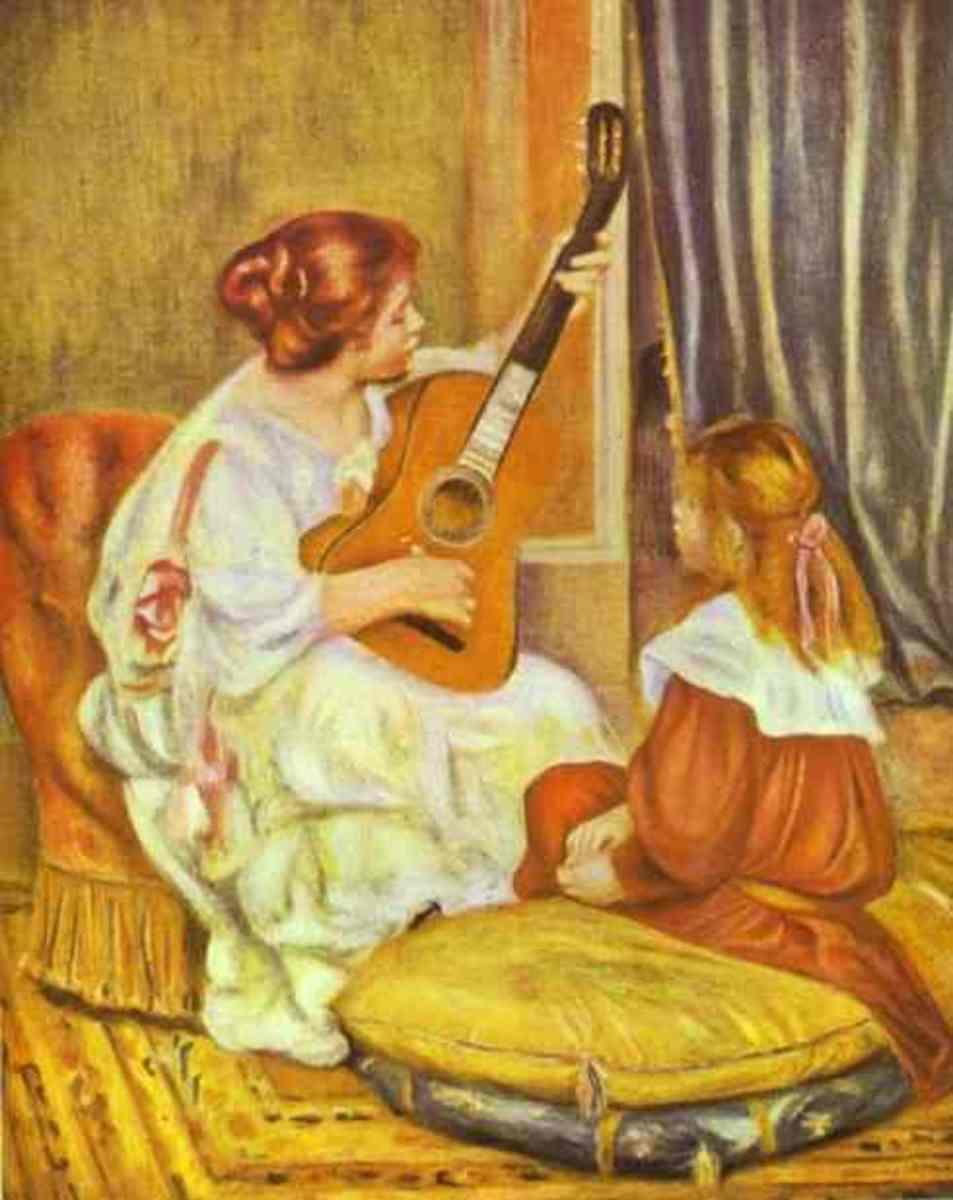 Guitar Lessons      (Renoir)