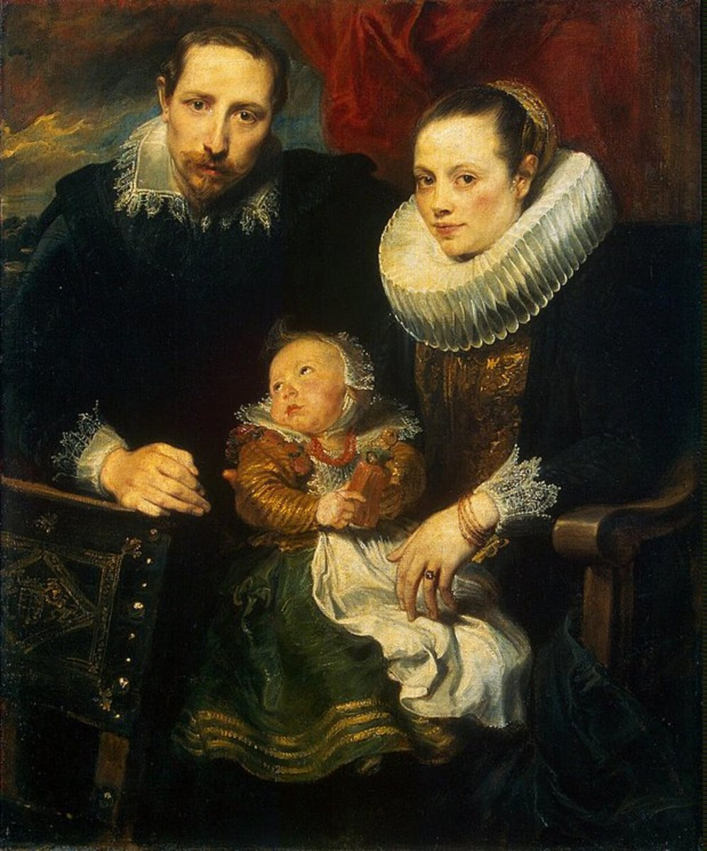 Portrait of a Family       (Van Dyke)