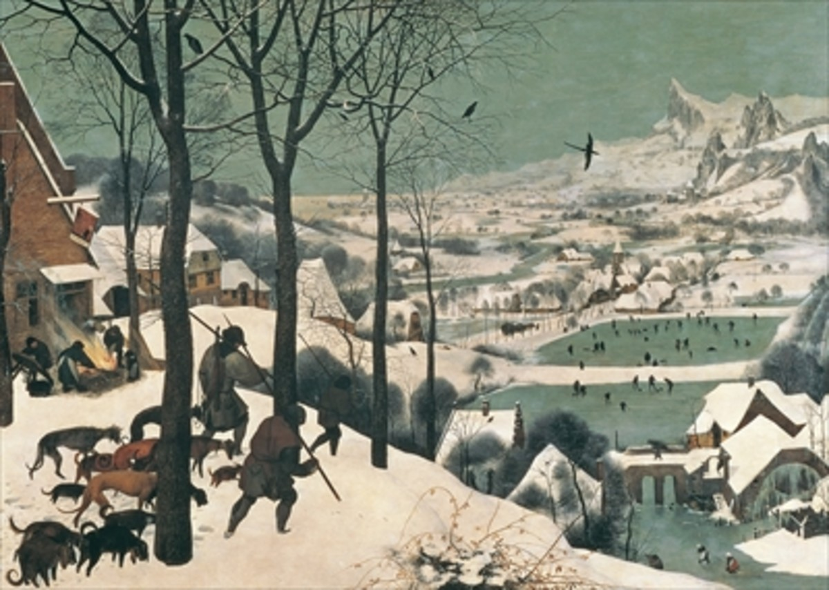 Hunters In The Snow     (Bruegel)