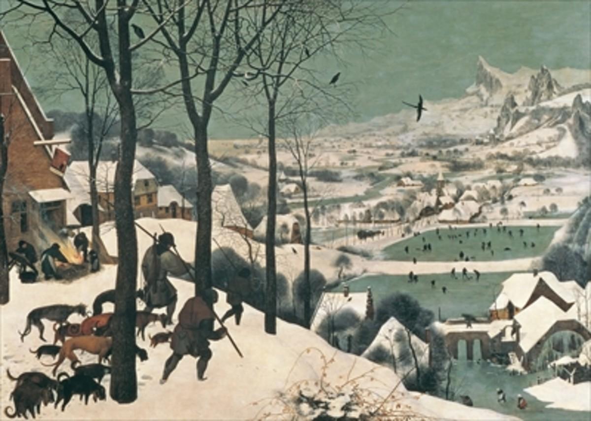 Hunters In The Snow     (Bruegel)