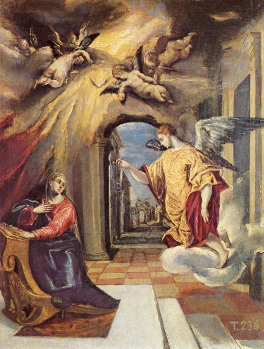 Annuciation  (El Greco)