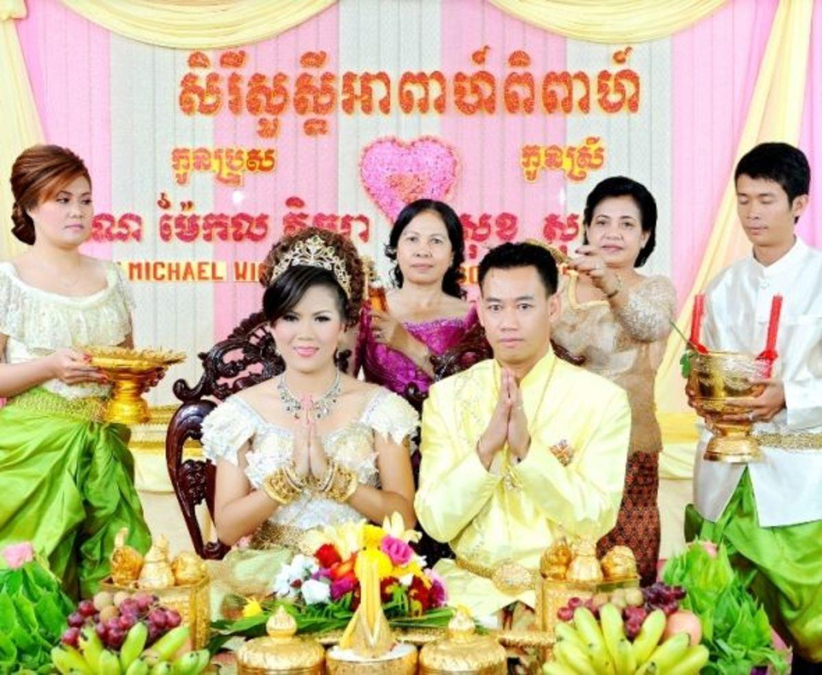 Khmer Wedding in Cambodia