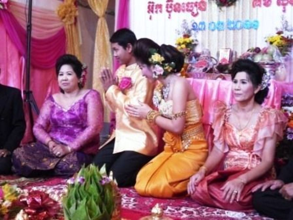 Wedding Rituals at a Khmer Wedding