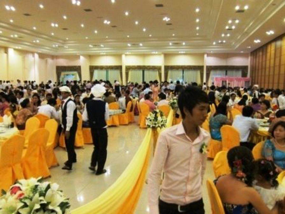Khmer Wedding Reception Cambodia