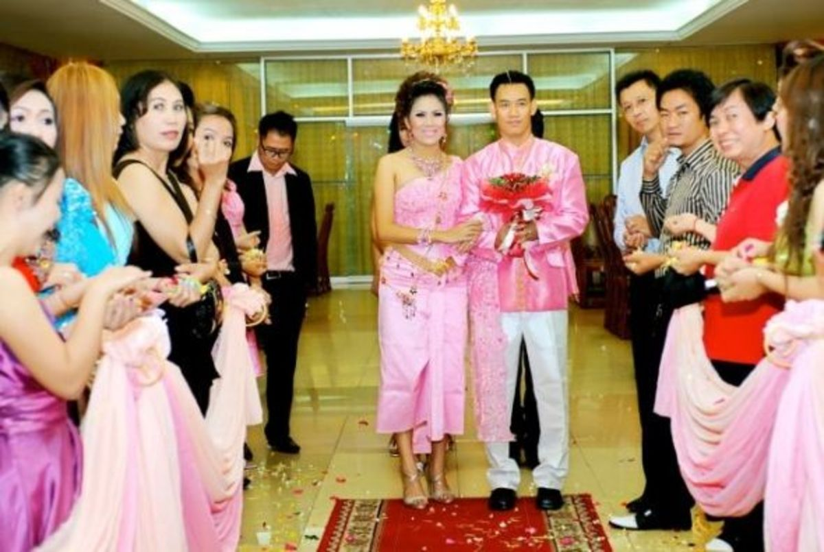 Cambodian Khmer Wedding