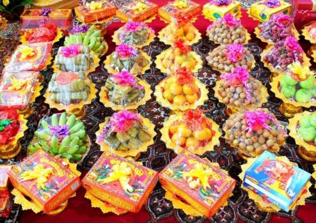 Khmer Wedding Gifts