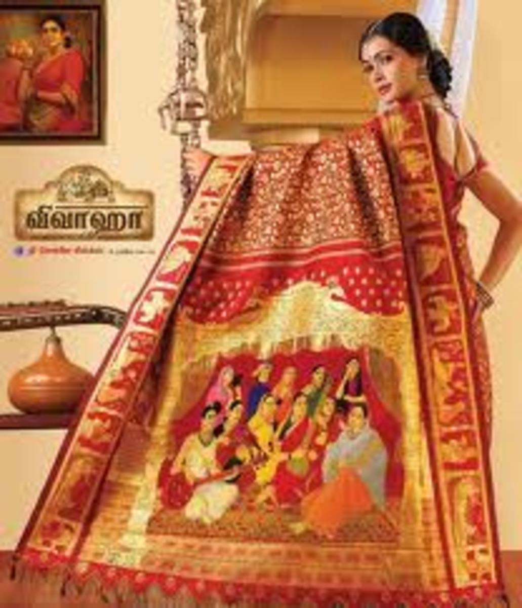 Most Expensive Sari in the World - in Guinness Book of World Records