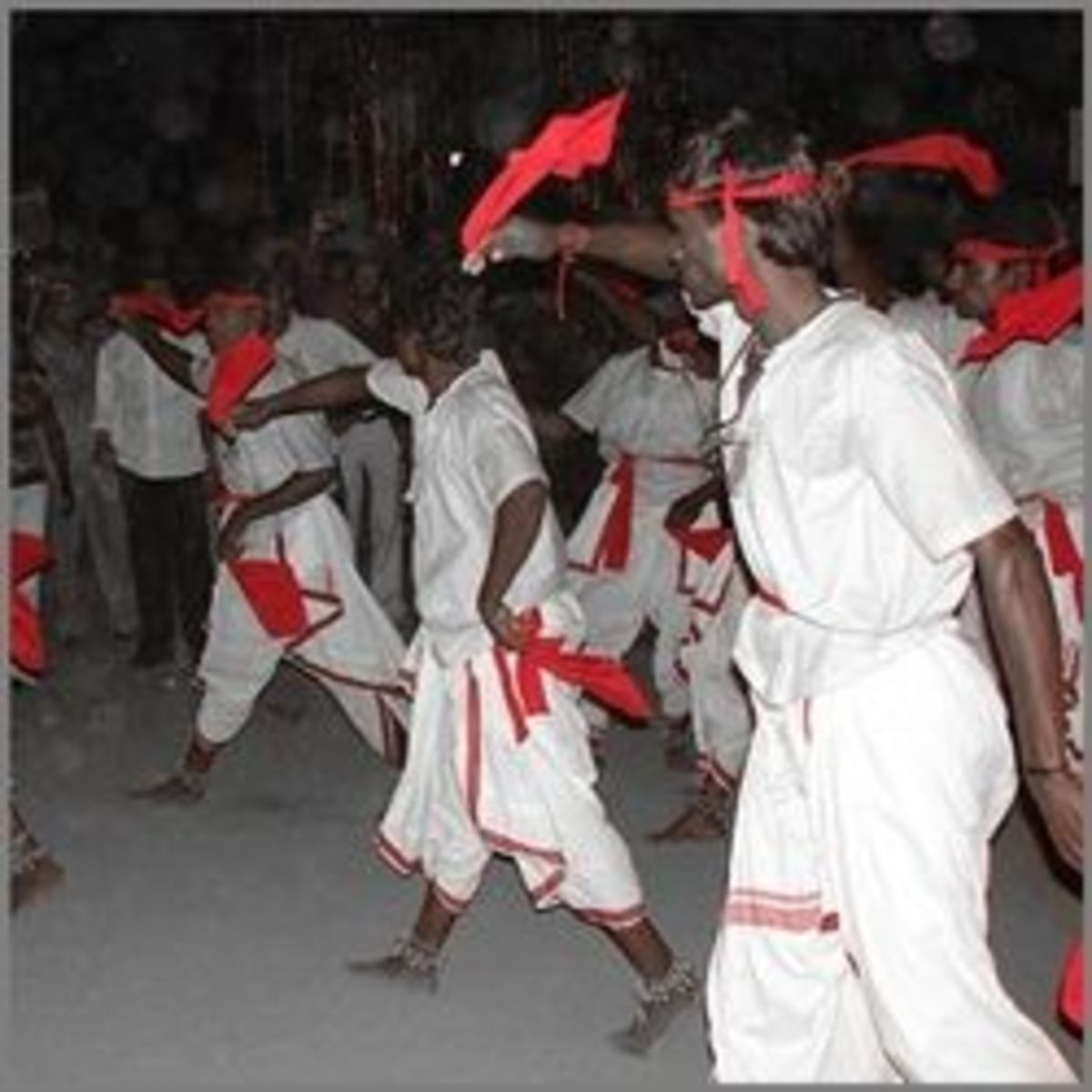 Oyilattam Folk Dance