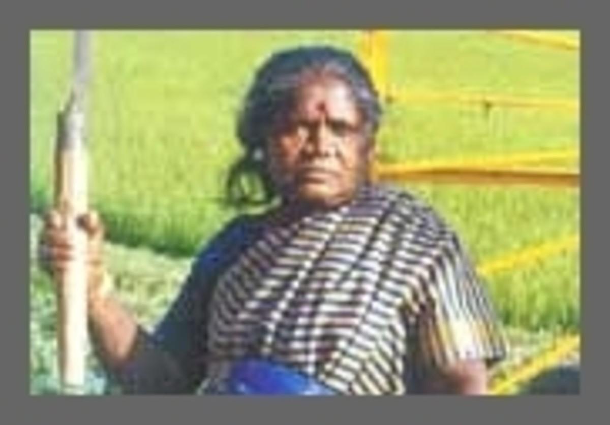 Folk Singer Paravai Muniyamma