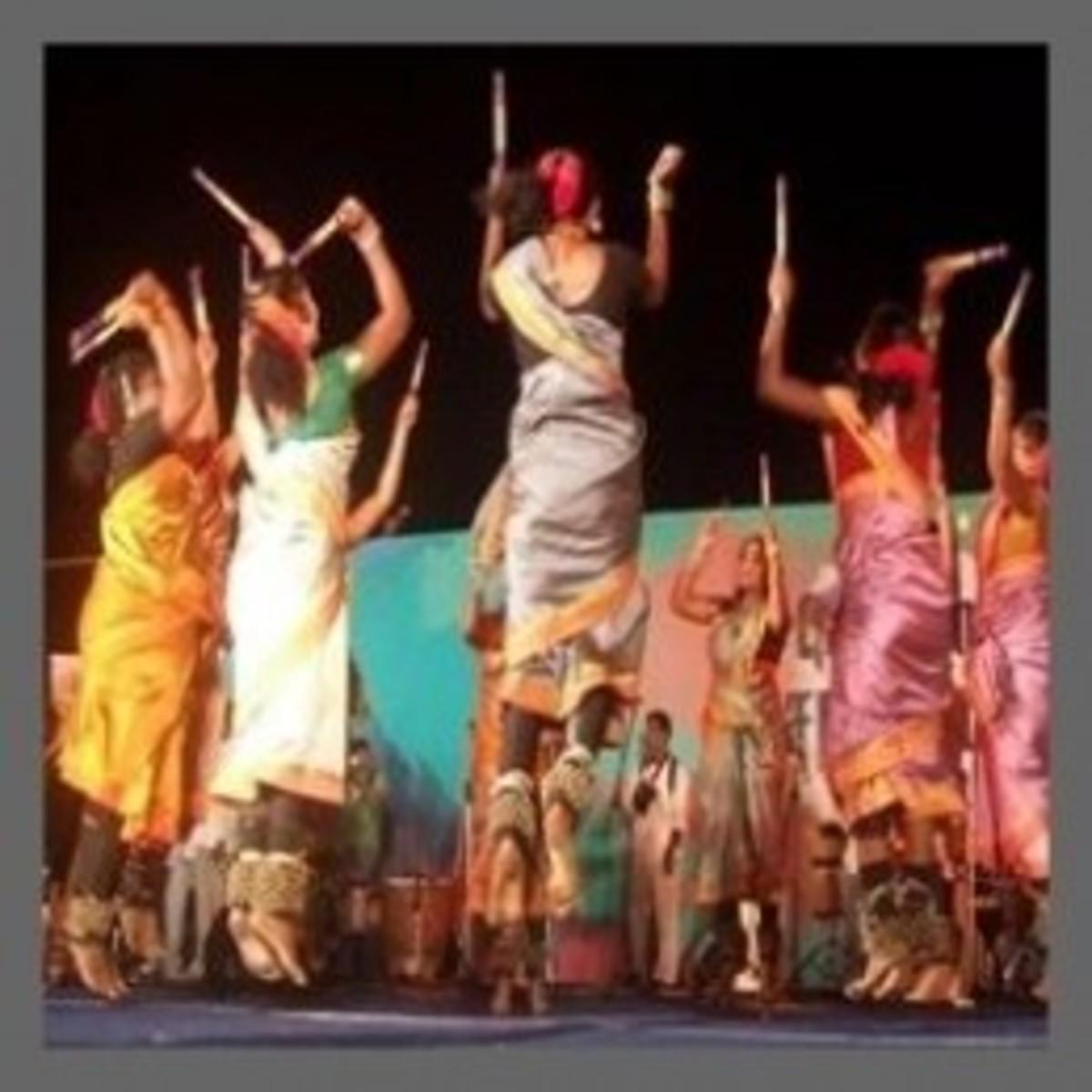 Tamil Folk Dance - Kolattam