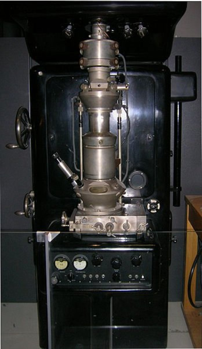 Electron Microscope made by Ernst Ruska.