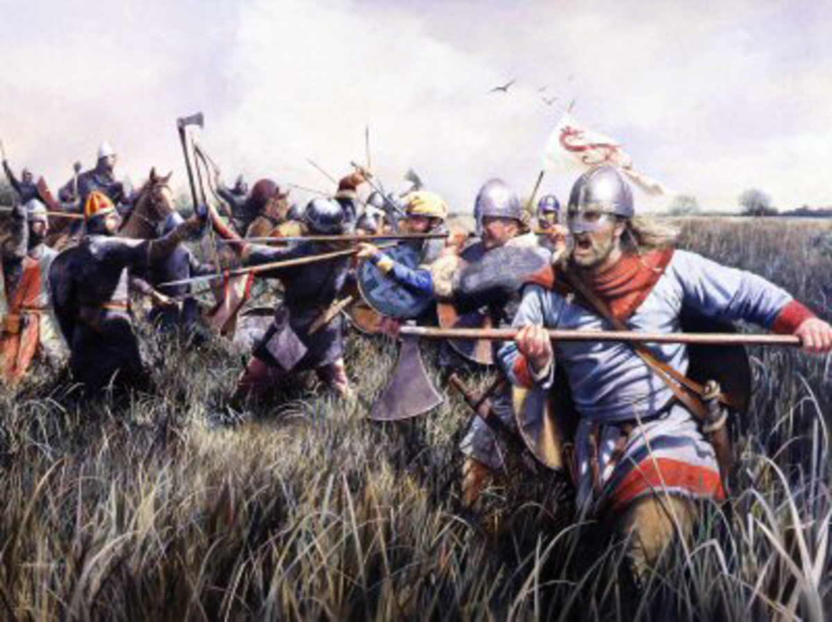 A setback for the Normans - Hereward staged lightning raids on the besiegers with men chosen by him for their skills in fenland warfare