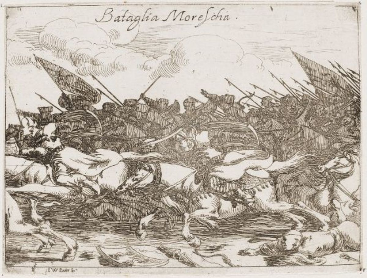 Moorish Battle, 1636