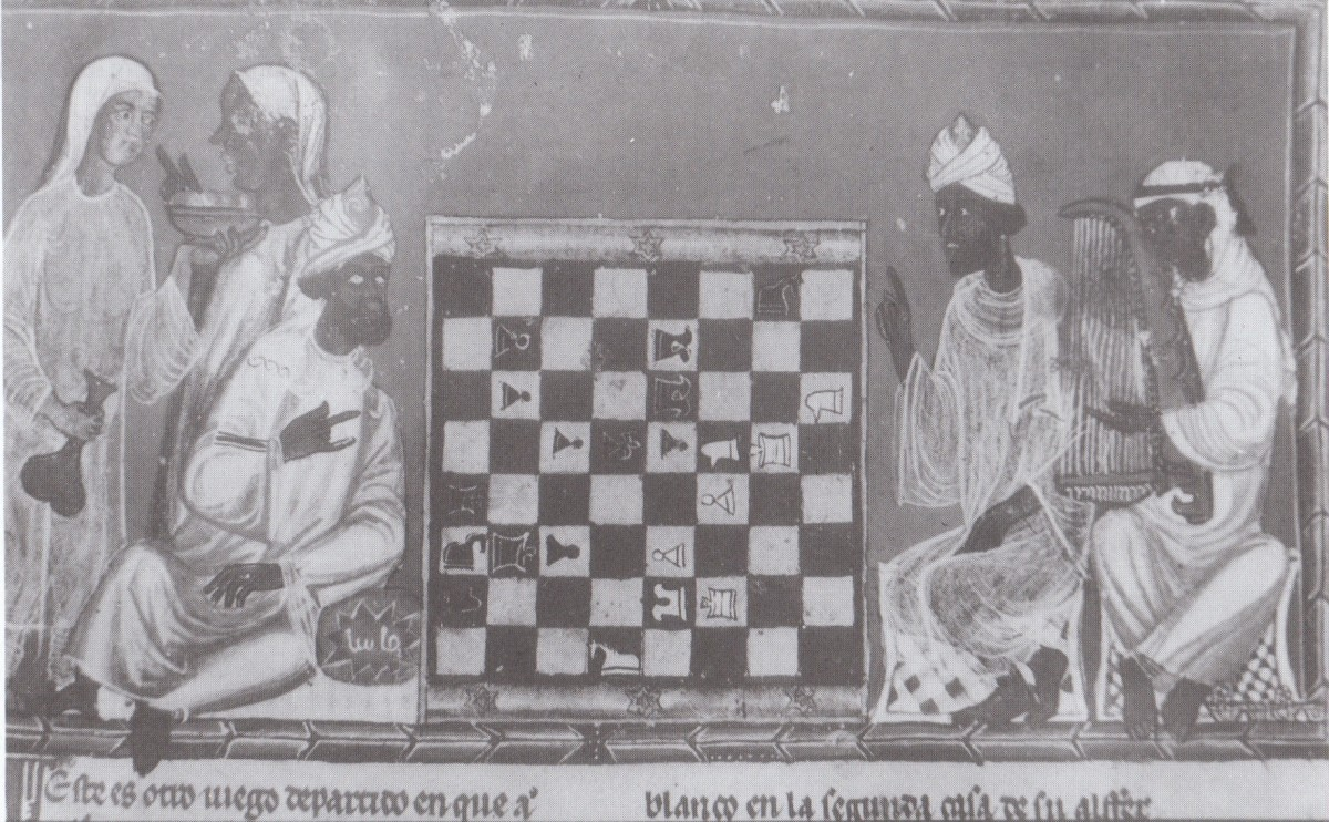 "Ya, Sha! (Oh King!), which signifies a challenge, iis better known today as ""Chess"". The Moorish Caliph Harun al Rashid gave Charlemagne, first emperor of the so-called Holy Roman Empire, a chess set in the 9th century."