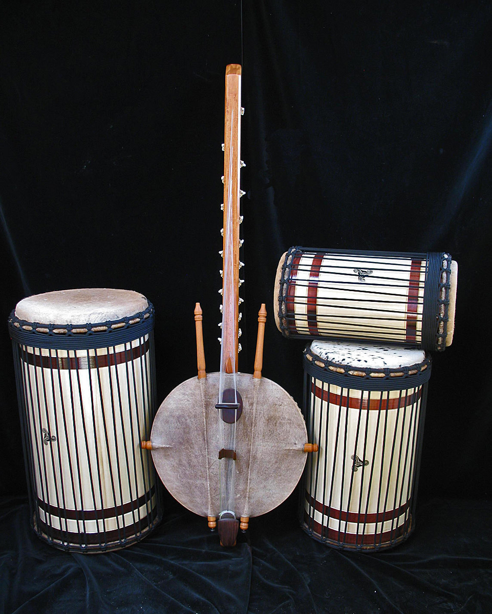 African Drums and Kora
