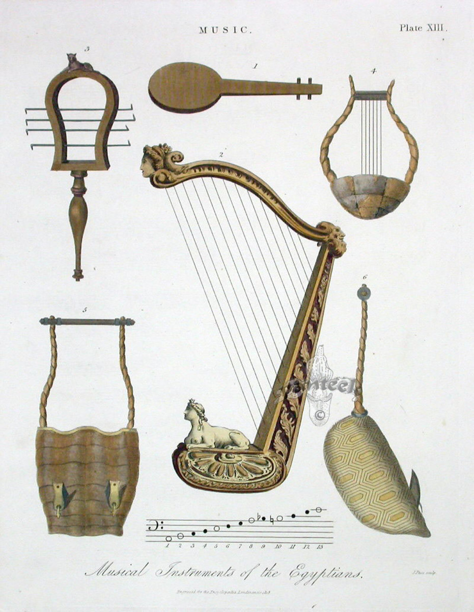 Musical Instruments of the Egyptians