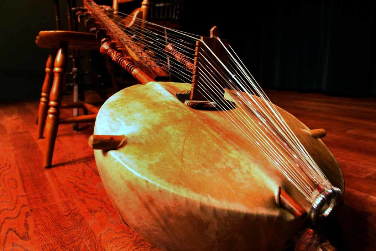 "The ""Kora"" - AfricanLute Instrument"