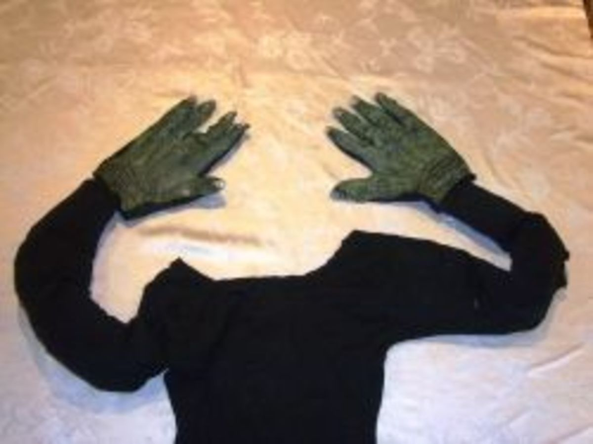 Crashed Witch Arms and Hands