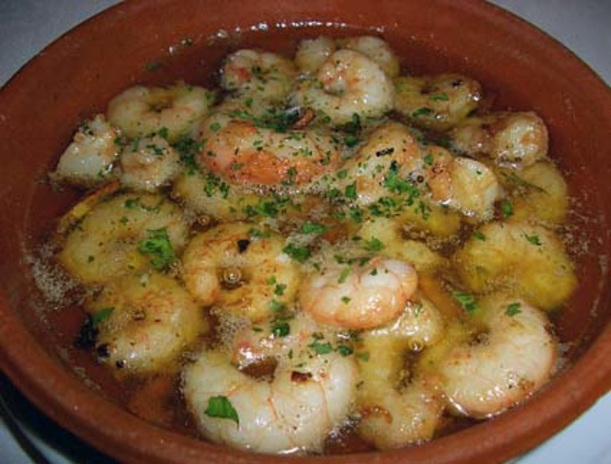 How to Make Perfect Spanish Tapas- Gambas al Ajillo (Garlic Prawns)